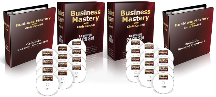 Chris Cardell business mastery